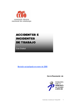 Thumb accidentes e incidentes de trabajo